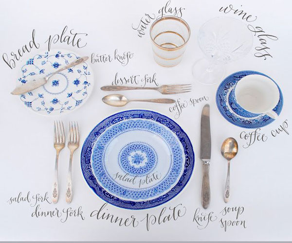 sc 1 st  Posh Parties & Ask Posh Party Gal: Setting A Table