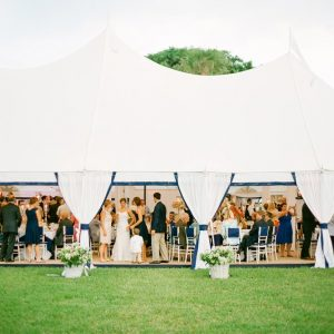nautical tent wedding 25