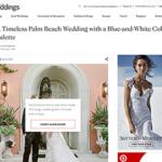 Timeless Palm Beach Wedding