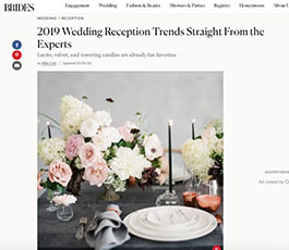 Brides October 2019 trends