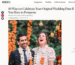 Brides postponement March 2020